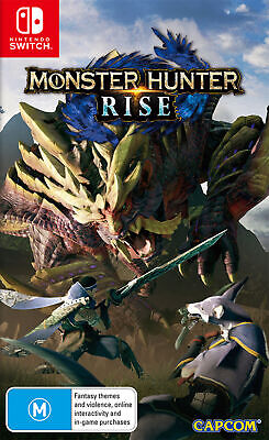 AU74.95 • Buy Monster Hunter Rise Switch Game NEW PREORDER 26/3