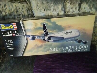 Revell Lufthansa Airbus A380_800 1,144 Scale Model Brand New • 19.50£
