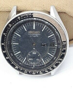 $ CDN362.80 • Buy Seiko 6139-2006 Auto Chrono Men's Watch Day/date Collectors For Repair Or Parts