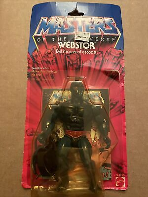 $300 • Buy Masters Of The Universe MOTU Original WEBSTOR (Wave 3, 1984) Action Figure NIB