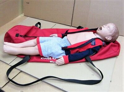Laerdal Resusci Junior Child CPR Manikin W/ Canvas Bag • 123£