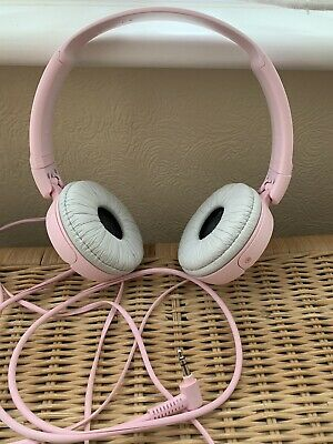 Sony MDR-ZX110 On-Ear Wired Headphones - Pink • 12£