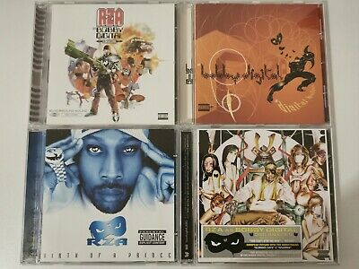 4 Rza Albums Cd's - Bobby Digital In Stereo & Digital Bullet, Birth Of A Prince • 31.60£