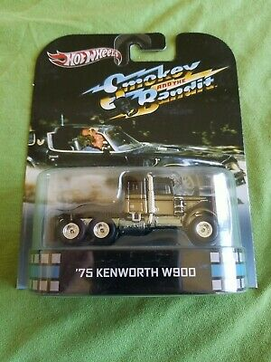 $ CDN56.97 • Buy 2013 Hot Wheels Smokey And The Bandit 75 KENWORTH W900 Black Gold EXCELLENT CARD