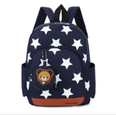 Lakeausy Toddler School Bag Boys Rucksack Nursery Bag, Toddler Reins Backpack • 14.99£