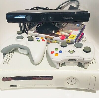 AU13 • Buy Xbox 360 'Final Fantasy Edition' Console 256mb +2 Controllers +Kinect  +3 Games
