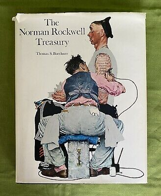 $ CDN124.07 • Buy Signed 1st Edition 1979 THE NORMAN ROCKWELL TREASURY By Thomas S. Buechner