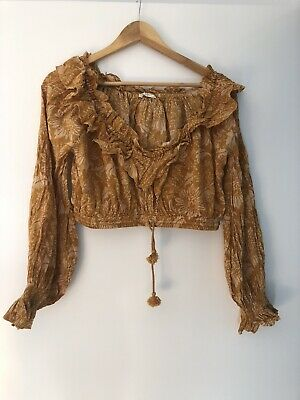 AU44 • Buy Spell And The Gypsy Collective Crop Top XL 14