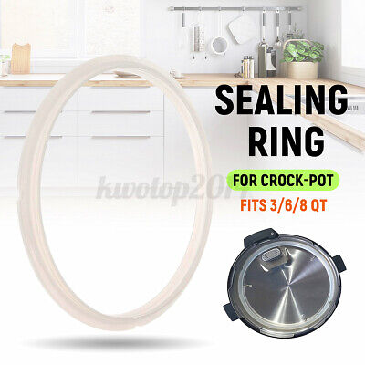 $ CDN10.14 • Buy Sealing Ring Seal Gaskets Pot Silicone Replacement For 3/6/8QT Crock-Pot