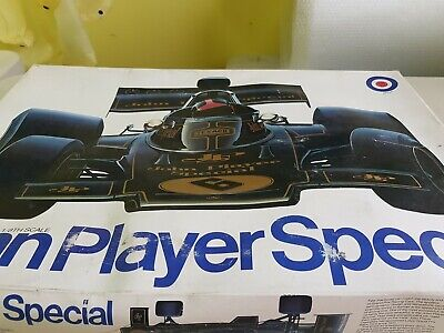 Lotus 72d John Player Special 1/8 Scale By Entex Very Rare Vintage Model  • 550£