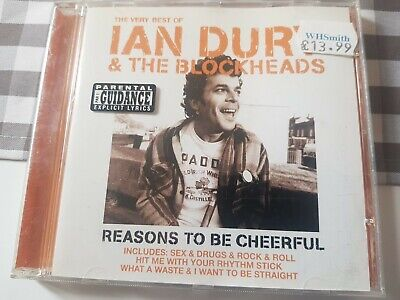 Ian Dury And The Blockheads : Reasons To Be Cheerful: The Very Best Of CD • 1.90£