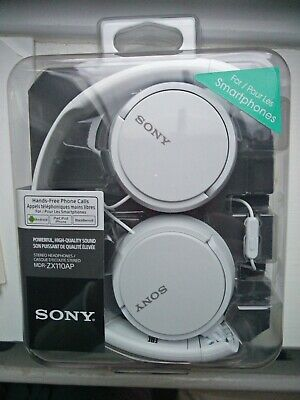 Sony MDR-ZX110AP On-Ear Overhead Wired Headset With Mic/Remote • 12£