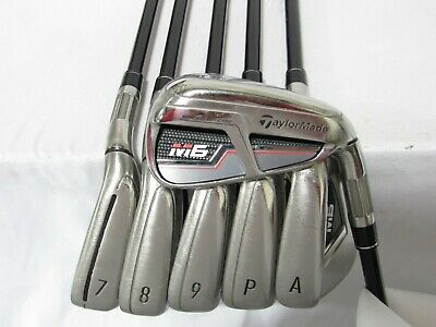 AU329.37 • Buy Used RH TaylorMade M6 Iron Set 6-P,A Regular Flex Graphite Shafts