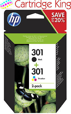 £29.95 • Buy Genuine 301 Black And Colour Ink Cartridges
