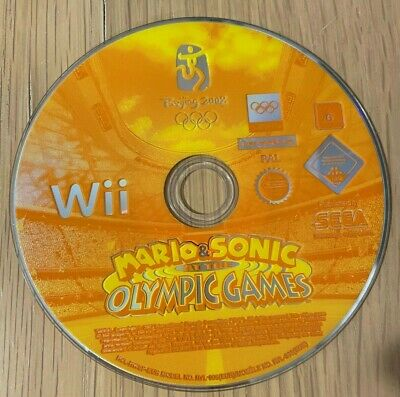 WII Game MARIO & SONIC AT THE OLYMPIC GAMES • 4.49£