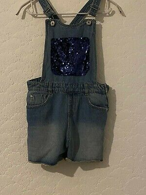 Girls Dungarees Aged 9 To 10 George • 1£