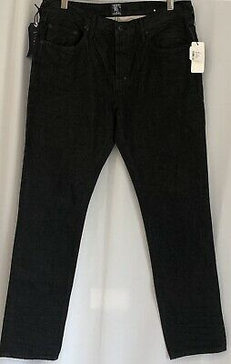 PRPS Men's Jeans 34 Demon Slim  Color:Black Denim Nwt • 63.56£