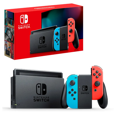 AU299 • Buy Nintendo Switch Neon Joy-on Console BRAND NEW RRP $499.00