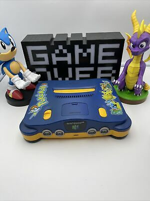 AU205 • Buy Nintendo 64 Console Pokemon Edition Console Only Tested & Working