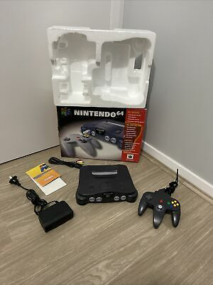 AU298 • Buy Nintendo 64 Game Console Complete In Box Pal
