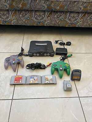 AU239 • Buy Nintendo 64 Game Console Complete With 3 Games And More⭐️⭐️
