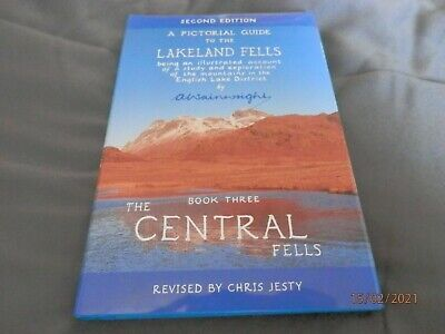 Wainwright Pictorial Guide To The Lakeland Fells - The Central Fells  • 5.99£