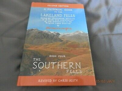 Wainwright Pictorial Guide To The Lakeland Fells - The Southern Fells • 5.99£