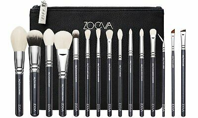 AU199.76 • Buy Zoeva Luxe Complete Set 15 Brushes + Clutch