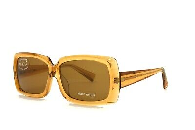 £84.63 • Buy Alain Mikli SUNGLASSES Brown 1169 2678 New Authentic 56mm