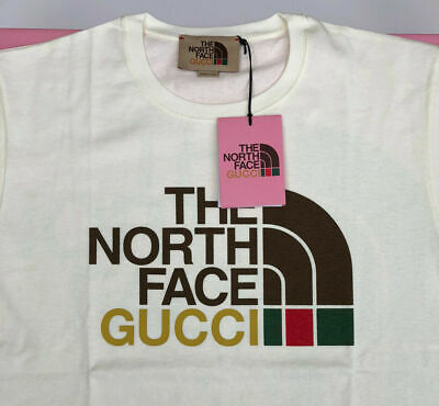 AU577.88 • Buy Gucci X The North Face TNF Cotton Short Sleeve T-Shirt Beige / Off White
