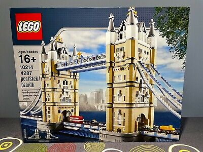 Lego Creator 10214 Tower Bridge. New And Sealed. Year 2010. Discontinued. • 258.34£