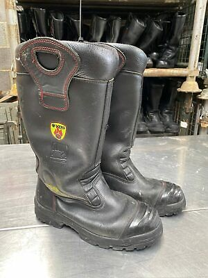 £24.99 • Buy YDS Ex Fire & Rescue Fire Firefighter Safety Leather Rigger Boots - Various S...