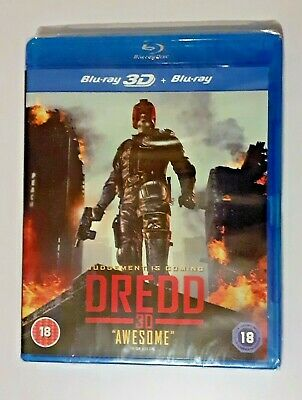 Dredd 3D + 2D BLU RAY NEW And SEALED  • 6.50£