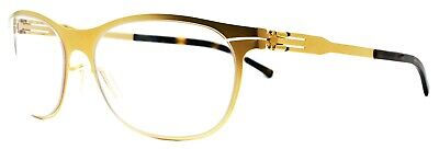 IC! Berlin Eyeglasses APRICOSE Matte Gold Brand New Authentic 54-18 • 177.07£