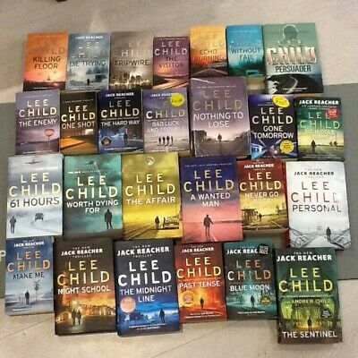 Lee Child, Jack Reacher Books, Complete Collection 1-25 And No Middle Name • 59.99£