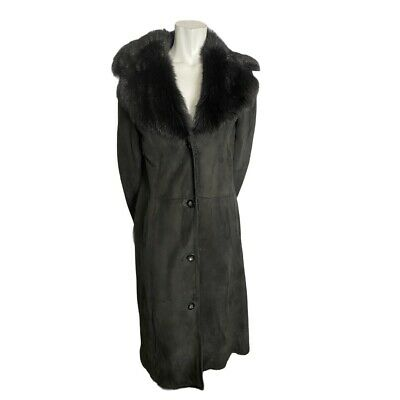$ CDN200 • Buy Danier Black Shearling Coat Size Small