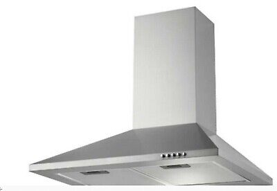 NEW (NEVER OPENED) Extractor Hood Fan Howdens LAM2410 A Lamona S/Steel Chimney • 55£