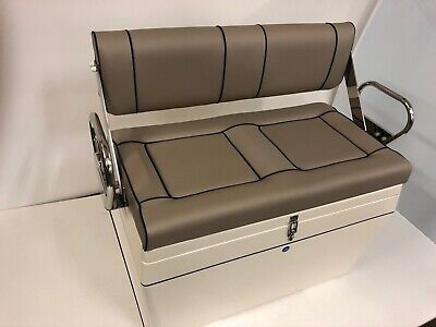 £1950 • Buy Twin Deluxe Tilt Back Box Seat RIB Boat Centre Console Made To Order
