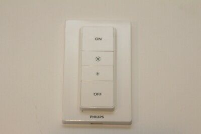AU24.48 • Buy Philips Hue 473371 Wireless Dimmer Switch - White USED