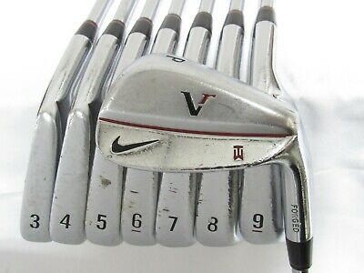 AU259.18 • Buy Used RH Nike Vr Tiger Woods Forged Iron Set 3-P Regular Flex Steel Shafts