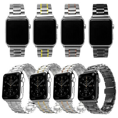 $ CDN25.29 • Buy 40/44mm Stainless Watch Band Strap For Apple IWatch Series 6 5 4 3 2 1 38/42mm