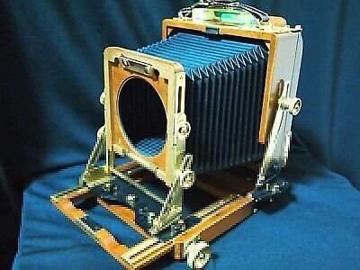 Near MINT   Wista Field 45DX Cherry Wood 4x5 Large Format Film Camera JAPAN • 894.38£