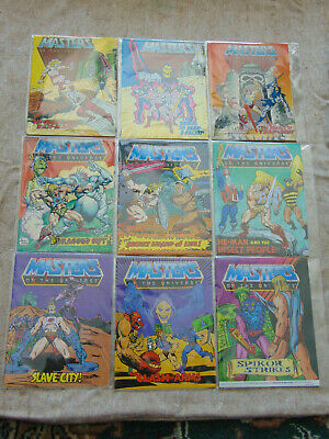$35 • Buy Masters Of The Universe MOTU He-Man Mini Comic Lot Of 9 Acceptable To Good #17