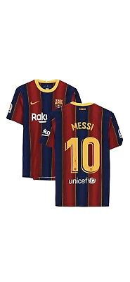 AU1000 • Buy Lionel Messi Signed Jersey