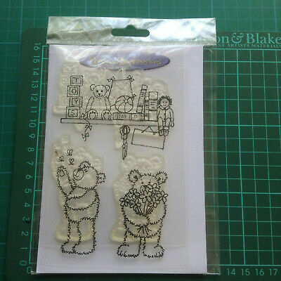 Teddy Bear 1 New & Sealed  Clear Stamp Set- Personnel Impressions • 3.99£