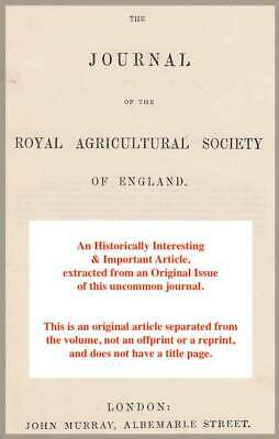 On The Drainage Of Land. A Rare Original Article From The Journal Of The Royal A • 14.99£