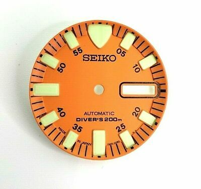 $ CDN31.20 • Buy New Aftermarket Replacement Dial For Monster Skx781 Men's Automatic Diver Watch!