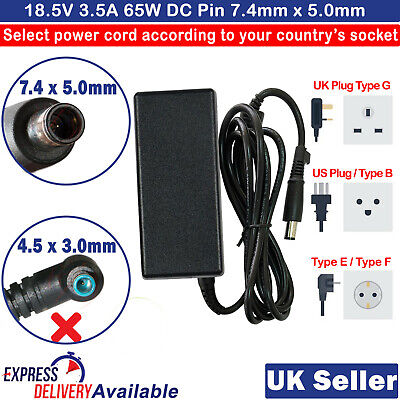 £14.59 • Buy For Compaq Presario CQ56 CQ57 CQ60 CQ61 CQ62 CQ71 Charger AC Adapter With Cable