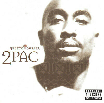 2Pac ‎– Ghetto Gospel CD Single JR2  • 2.19£