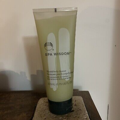 £21.66 • Buy The Body Shop Spa Wisdom Blissful Body Cleanser 6.75 Rare